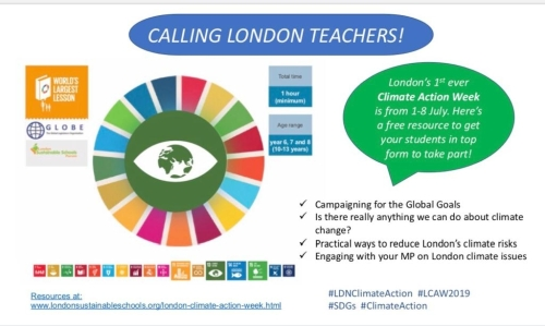 CLIMATE CHANGE RESOURCES FOR LONDON SCHOOLS