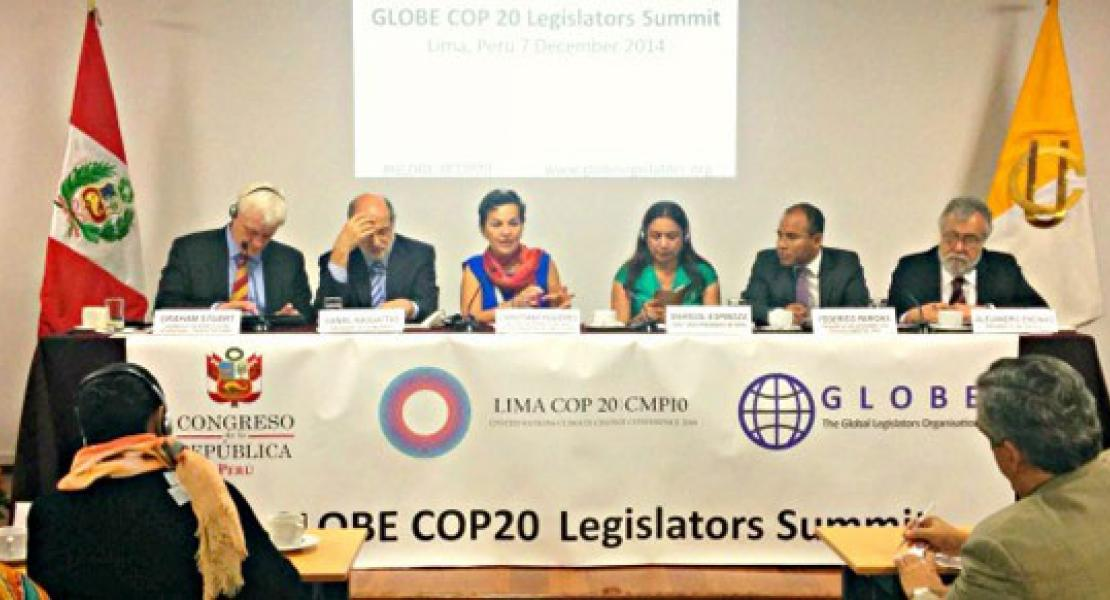 GLOBE COP20 Legislators Summit